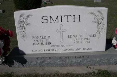 WILLIAMS SMITH, EDNA - Dawes County, Nebraska | EDNA WILLIAMS SMITH - Nebraska Gravestone Photos