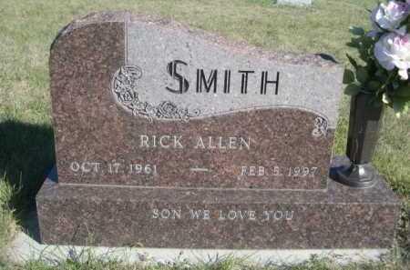 SMITH, RICK ALLEN - Dawes County, Nebraska | RICK ALLEN SMITH - Nebraska Gravestone Photos