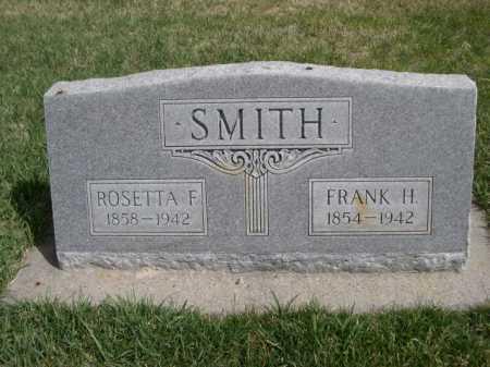 SMITH, ROSETTA F. - Dawes County, Nebraska | ROSETTA F. SMITH - Nebraska Gravestone Photos