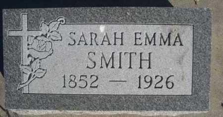 SMITH, SARAH EMMA - Dawes County, Nebraska   SARAH EMMA SMITH - Nebraska Gravestone Photos