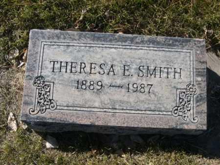 SMITH, THERESA E - Dawes County, Nebraska | THERESA E SMITH - Nebraska Gravestone Photos