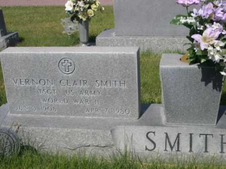 SMITH, VERNON CLAIR - Dawes County, Nebraska   VERNON CLAIR SMITH - Nebraska Gravestone Photos
