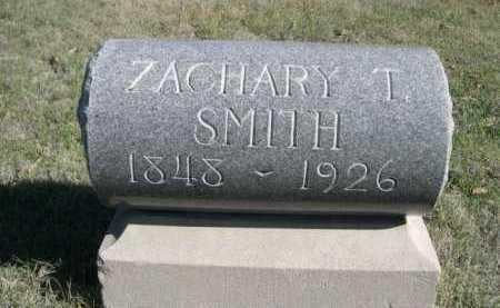 SMITH, ZACHARY T. - Dawes County, Nebraska | ZACHARY T. SMITH - Nebraska Gravestone Photos