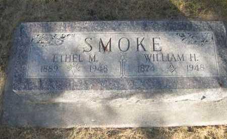 SMOKE, WILLIAM H. - Dawes County, Nebraska   WILLIAM H. SMOKE - Nebraska Gravestone Photos