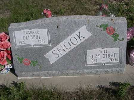 SNOOK, DELBERT - Dawes County, Nebraska | DELBERT SNOOK - Nebraska Gravestone Photos