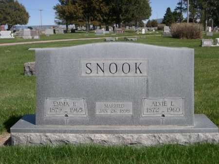 SNOOK, EMMA E. - Dawes County, Nebraska | EMMA E. SNOOK - Nebraska Gravestone Photos