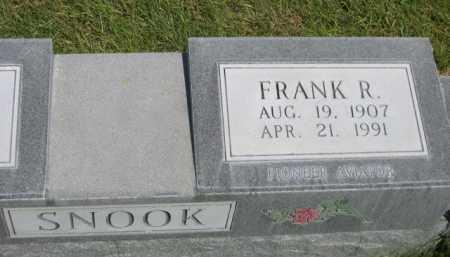 SNOOK, FRANK R. - Dawes County, Nebraska | FRANK R. SNOOK - Nebraska Gravestone Photos