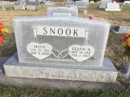 SNOOK, GLENN A. - Dawes County, Nebraska | GLENN A. SNOOK - Nebraska Gravestone Photos