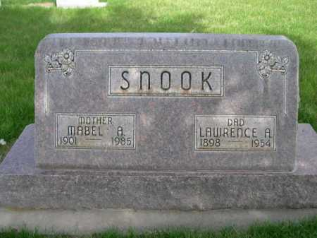 SNOOK, LAWRENCE A. - Dawes County, Nebraska | LAWRENCE A. SNOOK - Nebraska Gravestone Photos