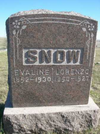 SNOW, LORENZO - Dawes County, Nebraska | LORENZO SNOW - Nebraska Gravestone Photos