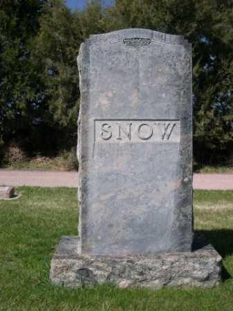 SNOW, FAMILY - Dawes County, Nebraska | FAMILY SNOW - Nebraska Gravestone Photos