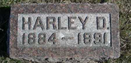 SNOW, HARLEY D. - Dawes County, Nebraska | HARLEY D. SNOW - Nebraska Gravestone Photos