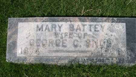 SNOW, MARY - Dawes County, Nebraska | MARY SNOW - Nebraska Gravestone Photos