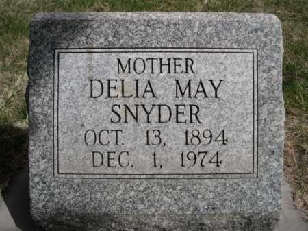 SNYDER, DELIA MAY - Dawes County, Nebraska | DELIA MAY SNYDER - Nebraska Gravestone Photos