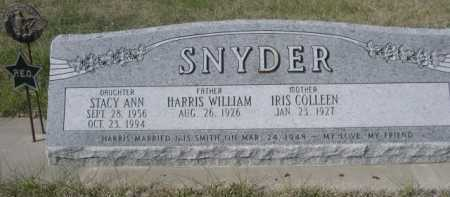 SNYDER, HARRIS WILLIAM - Dawes County, Nebraska | HARRIS WILLIAM SNYDER - Nebraska Gravestone Photos