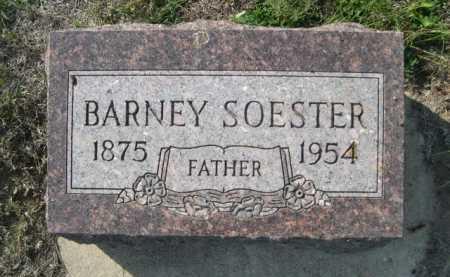 SOESTER, BARNEY - Dawes County, Nebraska | BARNEY SOESTER - Nebraska Gravestone Photos