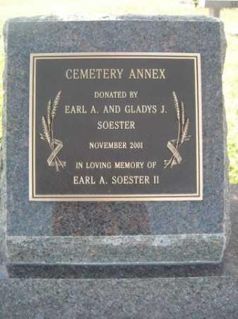 SOESTER, EARL A. II - Dawes County, Nebraska | EARL A. II SOESTER - Nebraska Gravestone Photos