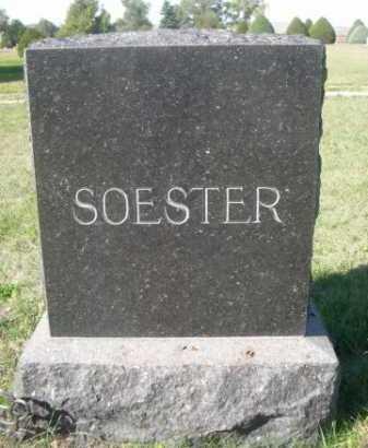 SOESTER, FAMILY - Dawes County, Nebraska   FAMILY SOESTER - Nebraska Gravestone Photos