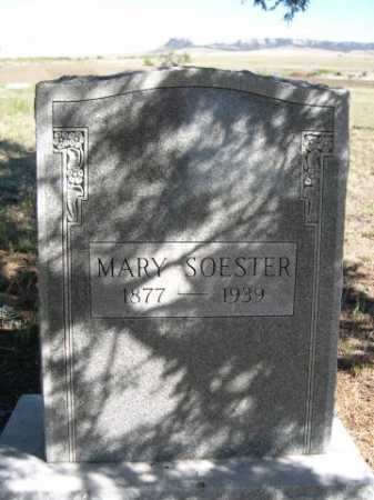 SOESTER, MARY - Dawes County, Nebraska | MARY SOESTER - Nebraska Gravestone Photos