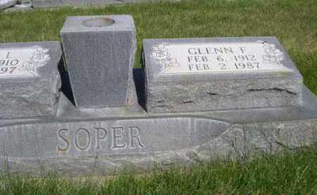 SOOPER, GLENN F. - Dawes County, Nebraska | GLENN F. SOOPER - Nebraska Gravestone Photos