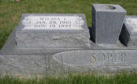 SOPER, WILMA I. - Dawes County, Nebraska | WILMA I. SOPER - Nebraska Gravestone Photos