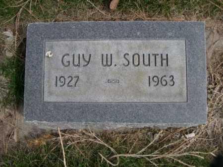 SOUTH, GUY W. - Dawes County, Nebraska | GUY W. SOUTH - Nebraska Gravestone Photos