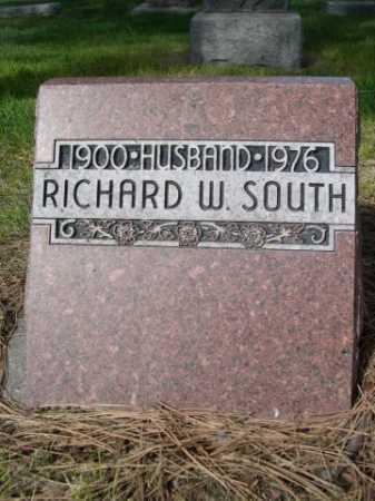 SOUTH, RICHARD W. - Dawes County, Nebraska | RICHARD W. SOUTH - Nebraska Gravestone Photos