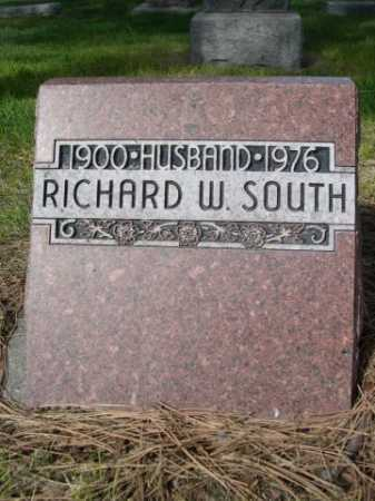 SOUTH, RICHARD W. - Dawes County, Nebraska   RICHARD W. SOUTH - Nebraska Gravestone Photos
