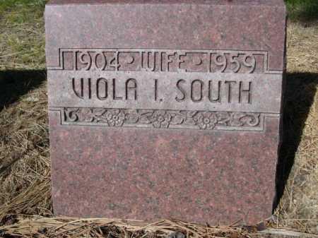 SOUTH, VIOLA I. - Dawes County, Nebraska | VIOLA I. SOUTH - Nebraska Gravestone Photos