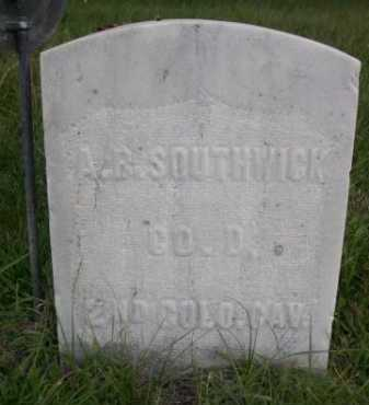 SOUTHWICK, A.B. - Dawes County, Nebraska   A.B. SOUTHWICK - Nebraska Gravestone Photos
