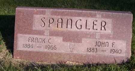 SPANGLER, FRANK C. - Dawes County, Nebraska | FRANK C. SPANGLER - Nebraska Gravestone Photos
