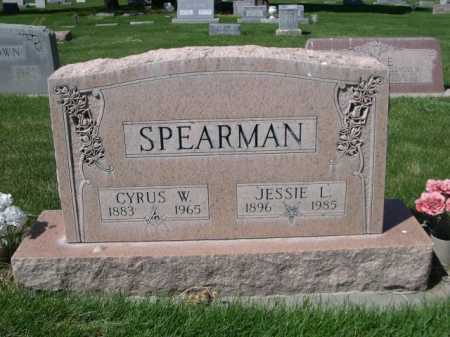 SPEARMAN, CYRUS W. - Dawes County, Nebraska | CYRUS W. SPEARMAN - Nebraska Gravestone Photos