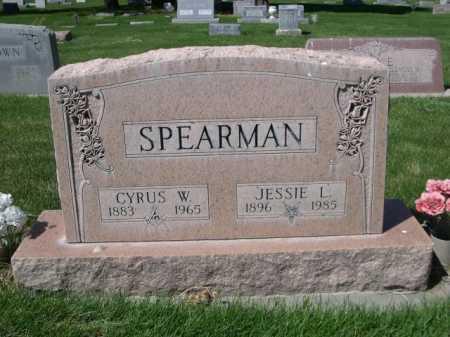 SPEARMAN, CYRUS W. - Dawes County, Nebraska | CYRUS W. SPEARMAN - Nebraska Gravestone Photos