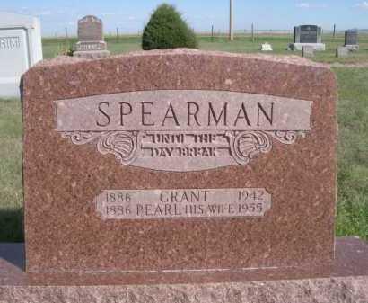 SPEARMAN, PEARL - Dawes County, Nebraska | PEARL SPEARMAN - Nebraska Gravestone Photos