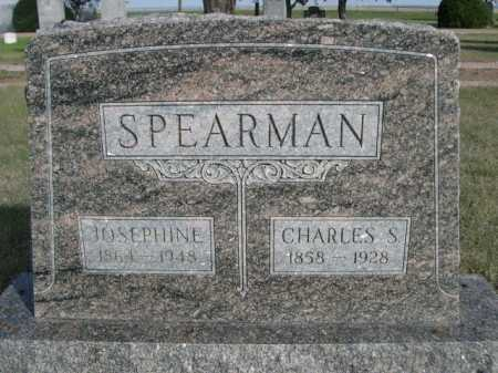 SPEARMAN, JOSEPHINE - Dawes County, Nebraska | JOSEPHINE SPEARMAN - Nebraska Gravestone Photos