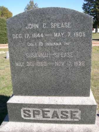 SPEASE, SUSANNAH - Dawes County, Nebraska | SUSANNAH SPEASE - Nebraska Gravestone Photos