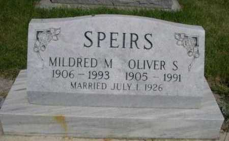 SPEIRS, MILDRED M. - Dawes County, Nebraska | MILDRED M. SPEIRS - Nebraska Gravestone Photos