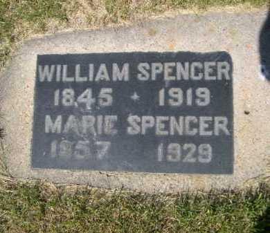 SPENCER, WILLIAM - Dawes County, Nebraska | WILLIAM SPENCER - Nebraska Gravestone Photos