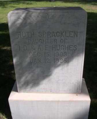 HUGHES SPRACKLEN, RUTH - Dawes County, Nebraska | RUTH HUGHES SPRACKLEN - Nebraska Gravestone Photos