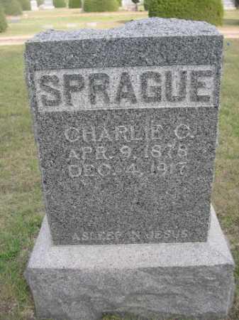 SPRAGUE, CHARLIE C. - Dawes County, Nebraska | CHARLIE C. SPRAGUE - Nebraska Gravestone Photos