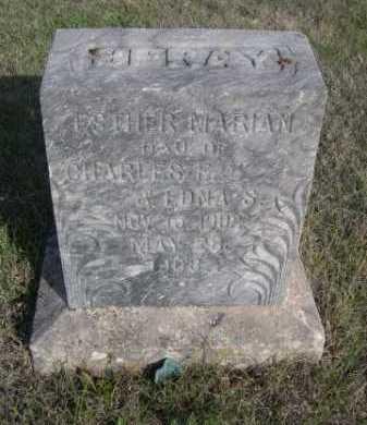 SPRAY, ESTHER MARIAN - Dawes County, Nebraska | ESTHER MARIAN SPRAY - Nebraska Gravestone Photos