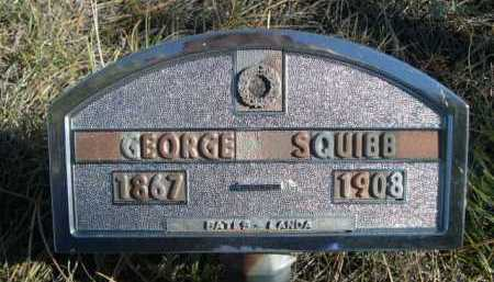 SQUIBB, GEORGE - Dawes County, Nebraska | GEORGE SQUIBB - Nebraska Gravestone Photos