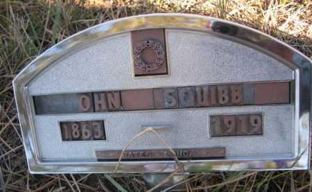 SQUIBB, JOHN - Dawes County, Nebraska   JOHN SQUIBB - Nebraska Gravestone Photos