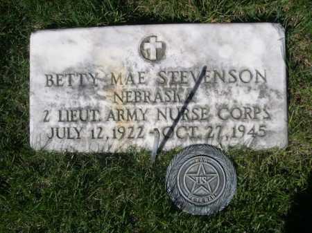 STEVENSON, BETTY MAE - Dawes County, Nebraska   BETTY MAE STEVENSON - Nebraska Gravestone Photos