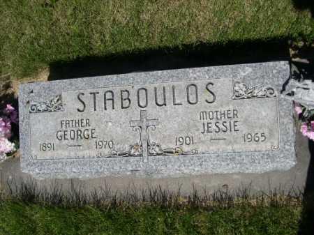 STABOULOS, GEORGE - Dawes County, Nebraska | GEORGE STABOULOS - Nebraska Gravestone Photos