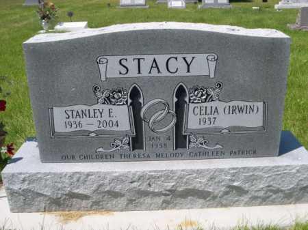 IRWIN STACY, CELIA - Dawes County, Nebraska | CELIA IRWIN STACY - Nebraska Gravestone Photos