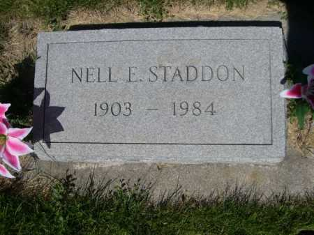 STADDON, NELL E. - Dawes County, Nebraska | NELL E. STADDON - Nebraska Gravestone Photos