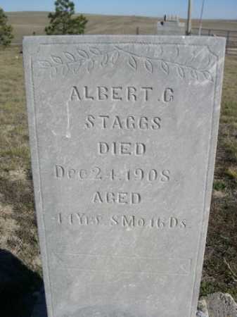 STAGGS, ALBERT G. - Dawes County, Nebraska | ALBERT G. STAGGS - Nebraska Gravestone Photos