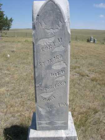 STANARD, CORA M. - Dawes County, Nebraska   CORA M. STANARD - Nebraska Gravestone Photos