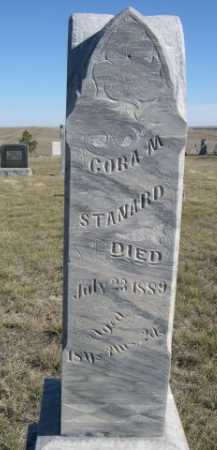 STANDARD, CORA M. - Dawes County, Nebraska   CORA M. STANDARD - Nebraska Gravestone Photos